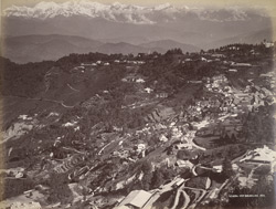 General view, Darjeeling